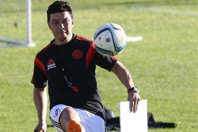 Para el superclásico, Marcelo Gallardo confirmó a Casco como titular y esperará a Maidana hasta último momento