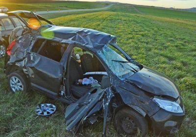 Fatal accidente en la Ruta 226: una mujer de 35 años perdió la vida
