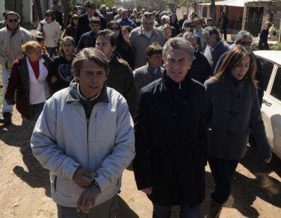 Macri y Vidal retomaron sus recorridas por provincia de Buenos Aires sin Niembro