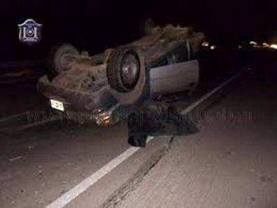 Un hombre perdió la vida al volcar con su automóvil en Cafayate