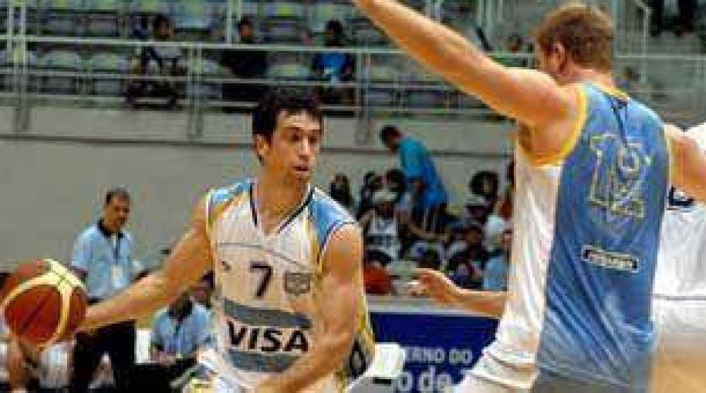 Preocupante derrota argentina en básquet.