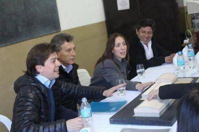 Macri y Vidal estuvieron con Mercuri