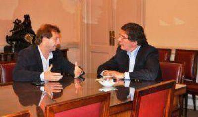 Speranza y Sileoni se reunieron por el proyecto Universidad de Chivilcoy