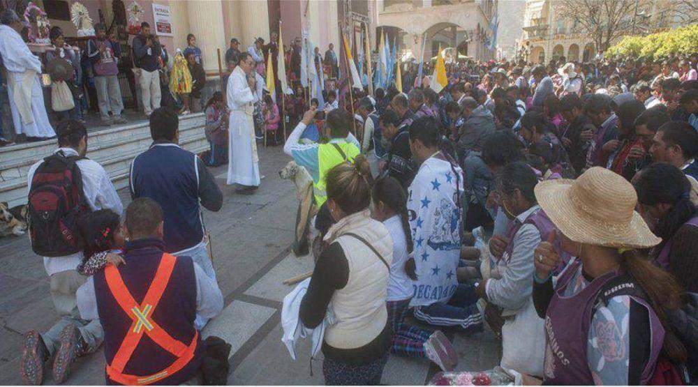 Más de 60 mil peregrinos dicen presente