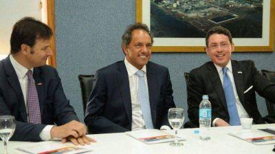 Daniel Scioli se reunió con el embajador de los Estados Unidos