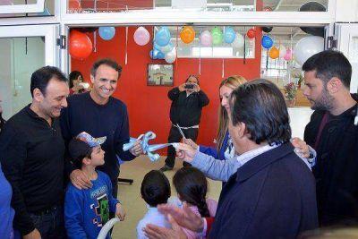 Katopodis inauguró las obras de ampliación del Centro de Salud Nº 6