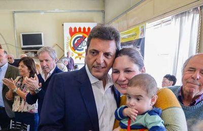 Primera se�al de acuerdo con PRO: Massa baj� un candidato a intendente