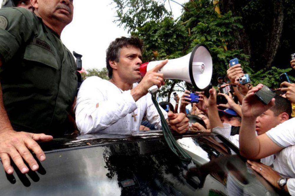 """Venezuela   La Iglesia considera """"injusta"""" sentencia contra López"""