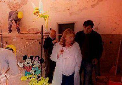 """El relato del """"Disney HIGA World"""" se impuso en la comisión de Legislación"""