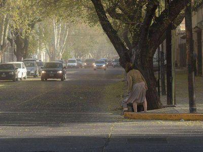 Se produjeron 37 incendios en Mendoza a causa del viento Zonda