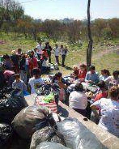 Donaciones a familias de zonas vulnerables