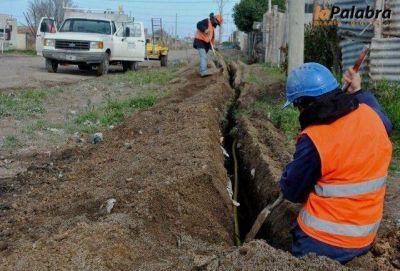 Finalizó la obra ampliación de red de gas en Villa Lynch
