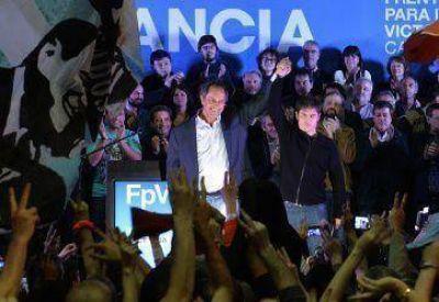 Por más votos: Scioli junta a los K porteños
