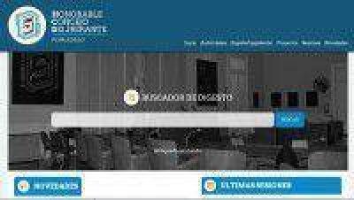 Se presentó la nueva página web del Honorable Concejo Deliberante