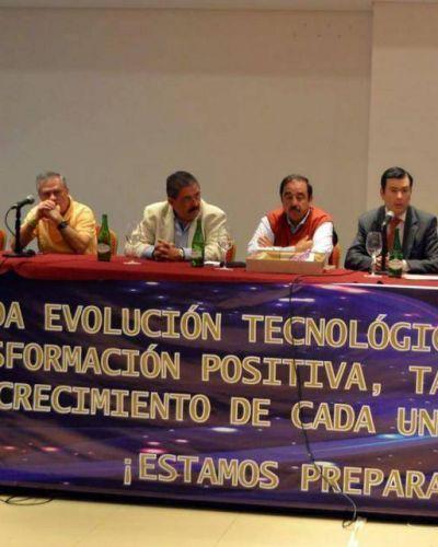 Zamora, en congreso de Foeesitra en Las Termas de Río Hondo
