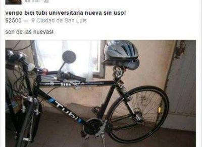 A horas de entregadas, ponen en venta bicis del Plan TuBi en las redes sociales