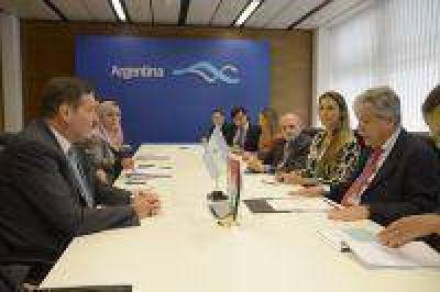 De Vido mantuvo una reunión bilateral con Jordania para impulsar cooperación nuclear