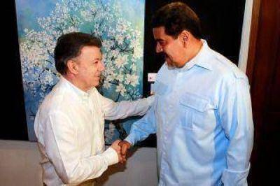 Santos y Maduro se reunirán el lunes en Quito, en presencia de Correa y Vázquez