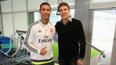 Dos goleadores de raza juntos: Palermo y su foto con Cristiano Ronaldo