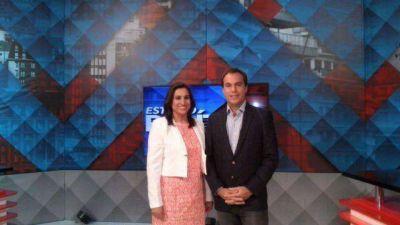 Fuerte cruce entre Laserna y Giri en �Estudio Pol�tico, debate�