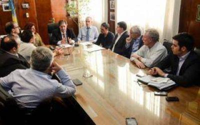 Collia se reunió con candidatos a Intendente del sur de la provincia