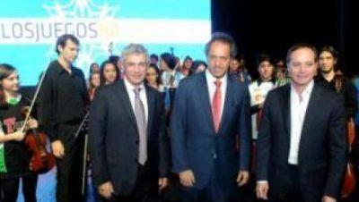 Scioli presentará su propuesta deportiva en Mar del Plata