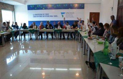Omar Judis fue reelecto rector de la UNCAus