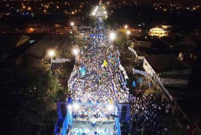 El Frente Chaco Merece Más cerró su campaña ante una multitud: