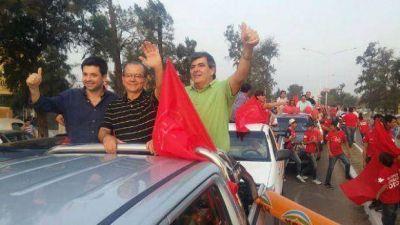 Sáenz Peña: Gerardo Cipolini cerró la campaña con duros conceptos hacia el PJ