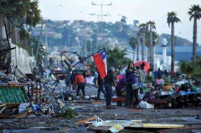 Ya son al menos 12 los muertos por el fuerte terremoto en Chile