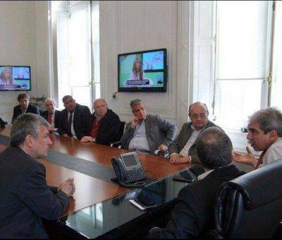 Referentes locales de MNA-Forja se reunieron con Aníbal Fernández