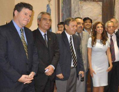 La gobernadora recibió a diputados del oficialismo
