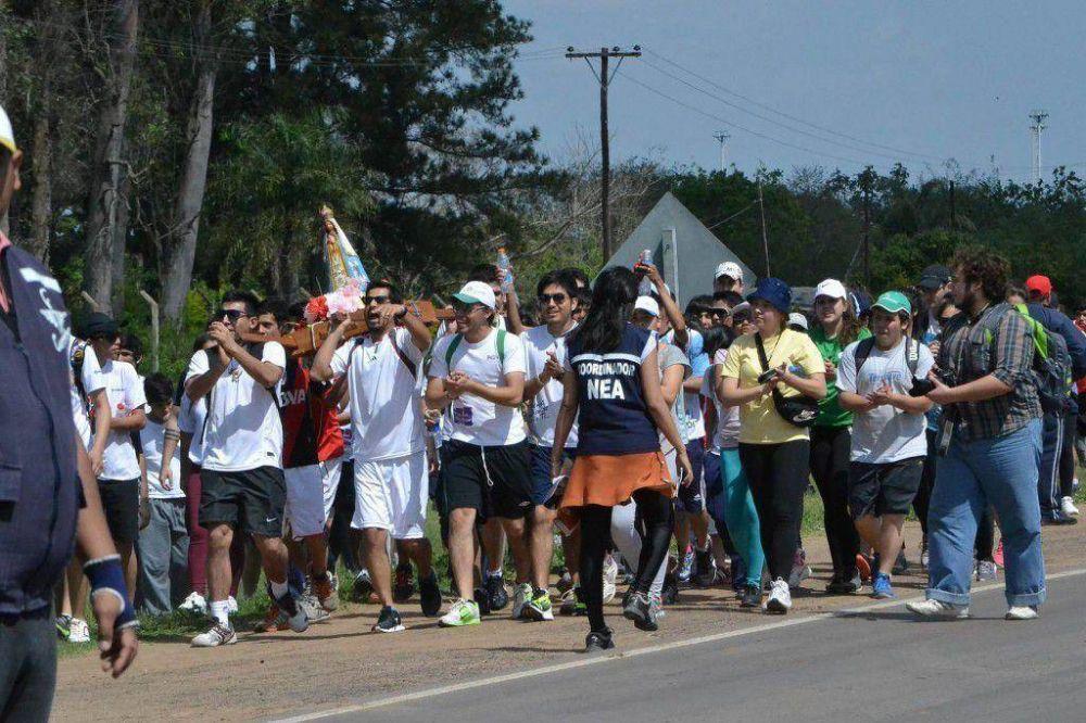 Más de 200 mil jóvenes se preparan para caminar hacia Itatí