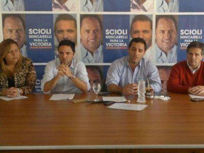 """Juan Mincarelli: """"Relanzamos nuestra campaña con el eje en la transparencia"""""""