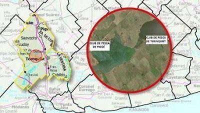 Por dos lagunas cambian límite entre Tornquist y Saavedra