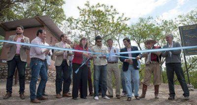 Inauguraron importantes obras turísticas en la Reserva Ecológica de San Lorenzo