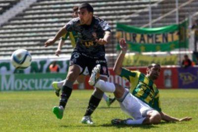 Aldosivi empat� 0 a 0 con Hurac�n en el �Jos� Mar�a Minella�