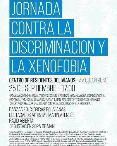 Jornada contra la Discriminación y la Xenofobia