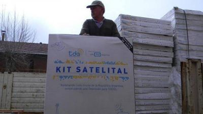 LLEGARON KITS SATELITALES PARA LA TV DIGITAL ABIERTA