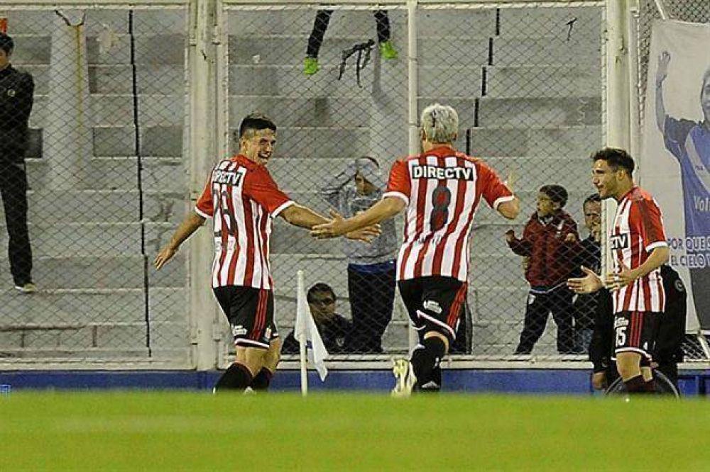 Estudiantes le dio otro golpe a Vélez y se ilusiona con entrar a la Libertadores