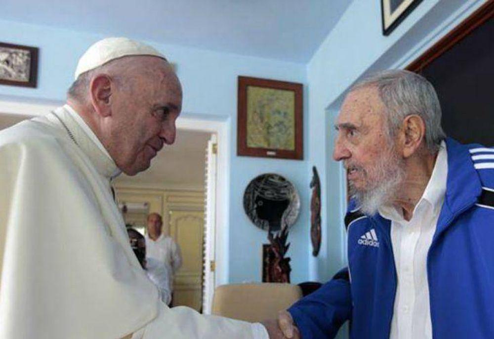 El Papa Francisco se reunió con Fidel Castro