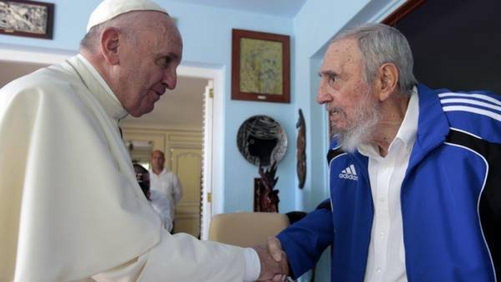 Con Fidel, libros de regalo y charla sobre el mundo y la ecología