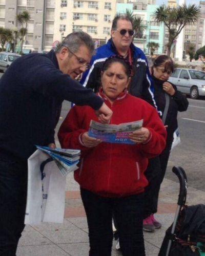 Alejandro Cristaldi dialogó con los vecinos sobre el Hospital Municipal