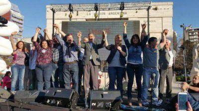 Progresistas relanz� su campa�a en Parque Rivadavia
