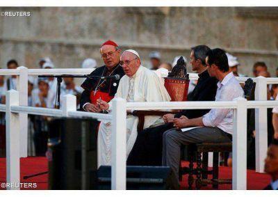 """""""Asuman el reto de ser la dulce esperanza del futuro"""", aliento del Papa a los Jóvenes de Cuba"""
