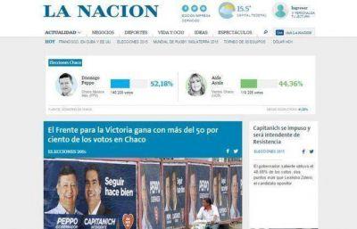 Medios nacionales destacan el triunfo de Peppo y Capitanich