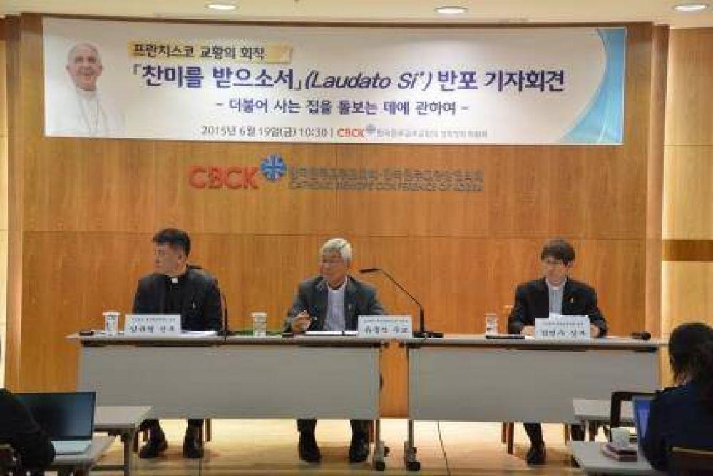 La encíclica Laudato si' éxito de venta en Corea