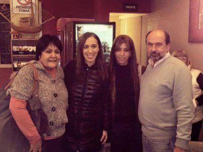 Camino a las generales de octubre: Martínez Salas con María Eugenia Vidal