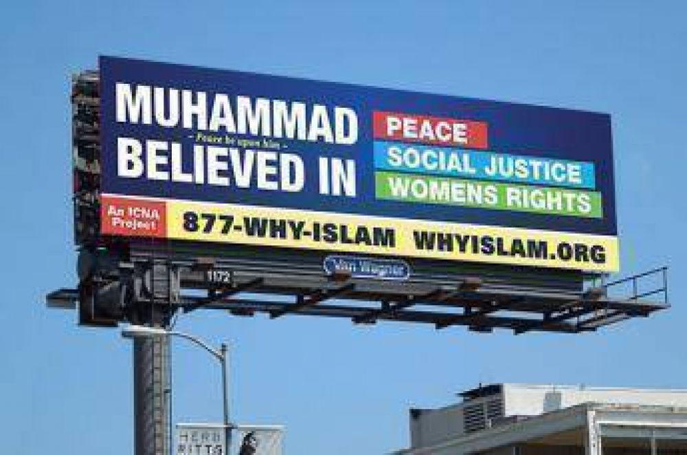 Lanzan campaña publicitaria sobre el Islam en EEUU