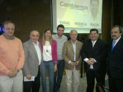 Junto a Pinedo y Alfonsín, Nedela encabezó reunión con el sector empresarial